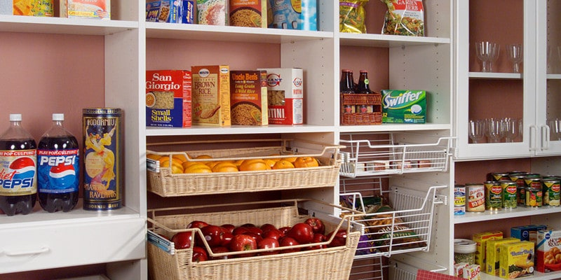 pantry storage organization in Sarasota, FL