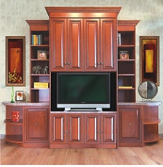 custom entertainment center in sarasota, fl