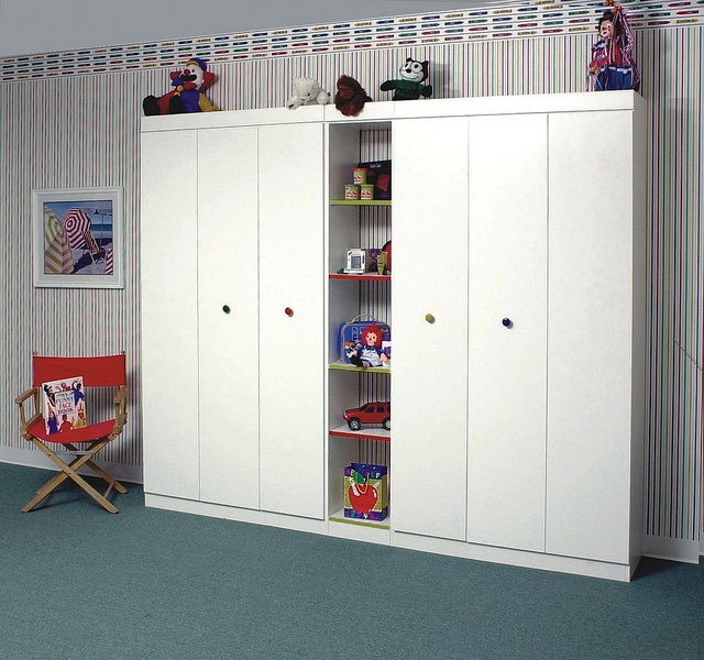 kids custom closet storage