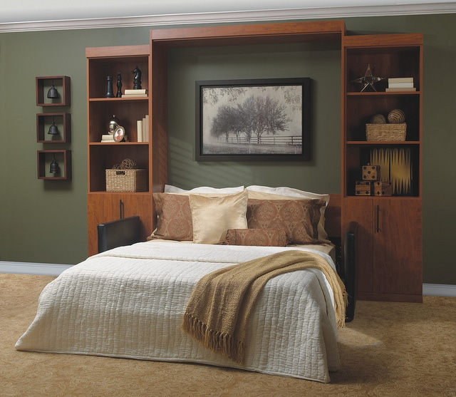 Chesterfield Panel Bed open