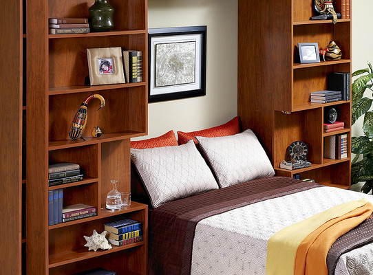 Jefferson Bookcase bed