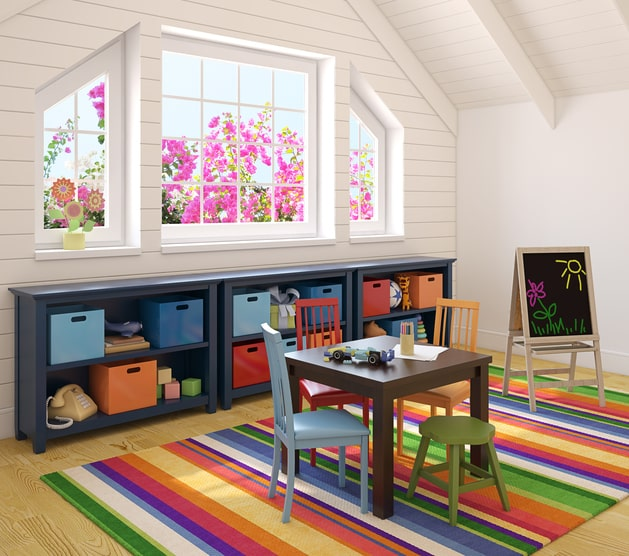 playroom murphy bed
