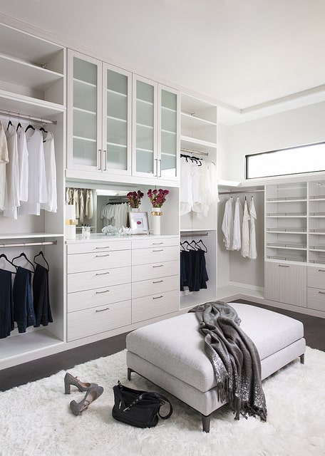 boutique custom walk in closet