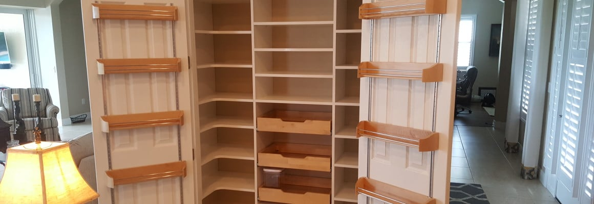custom buit-in pantry bradenton florida