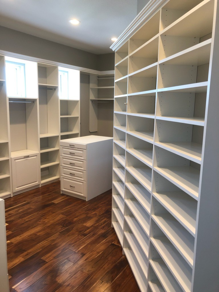 More Space Place Custom Walk In Master Closet In Palmetto Fl More Space Place