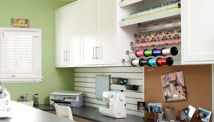 custom craft room