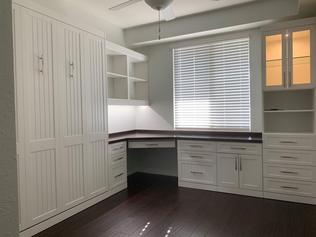 custom home office in bradenton